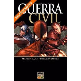 Marvel Deluxe - Guerra Civil - Mark Millar - Panini Books
