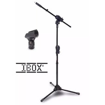 Pedestal Suporte P/ Microfone Ibox Girafa+cachimbo Oferta