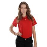 Kit 5 Camisa Pólo Feminina Básica Atacado E Revenda P Ao Gg