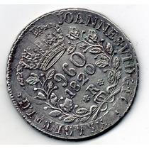 Rarissima-960 Reis De 1820r Satb Sob-flor