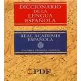 Libro: Real Academia Española: Diccionario De La... - Pdf