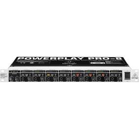 Amplificador Behringer Para Audifonos Ha 8000