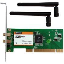 Placa De Rede Wireless Pci 150/300 Mbps Com Garantia