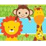 Kit Imprimible Animalitos Safari Niño Tarjetas Cumpleaños