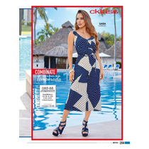 Hermoso Jumpsuit Estampado Casual- Formal De Moda Cklass
