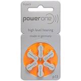 6 Pilhas Baterias P13 Pr48 Aparelho Auditivo - Power One