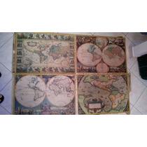 Puzzle - Quebra-cabeça Mapas Históricos 5000 Peças Montado