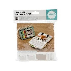 Scrapbook The Cinch Kit Recipe Book Libro De Recetas