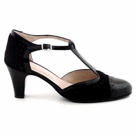 Zapato Cuero Mujer Briganti De Vestir Sandalia Mcsd04367 Gc
