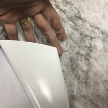 2 Bobinas Adesivo Tipo Pedra Imita Marmore - 10m X 45cm Cada