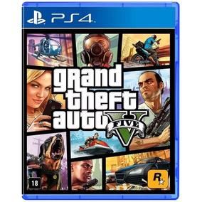 Grand Theft Auto V - Gta 5 - Ps4 - Midia Física Novo Lacrado