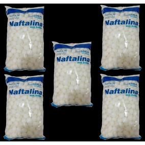 Naftalina Hidrocarboneto Aromático Bolas 5 Kg Frete Grátis