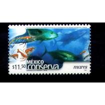 México Conserva Tipo 3 $11.50p Mares Scott # 2270a