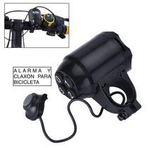 Claxon Timbre Para Bicicleta Eléctrico Y Alarma Antirrobo