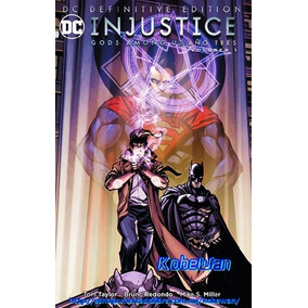 Dc Comics Definitive Injustice Año 3 Vol. 1 Batman Superman