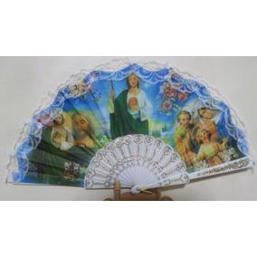 Abanicos San Judas Tadeo Y Sagrada Familia