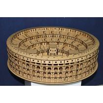 Centro De Mesa Coliseo Romano Imperdible Y Original