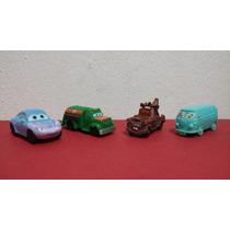 Autos Cars Huevo Kinder 4 Piezas