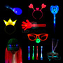 Cotillon Luminoso Combo Led Fluo 40 Chicos Infantil Pack