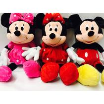Mickey Ou Minnie 50 Centímetros Rosa,vermelha Pelucia