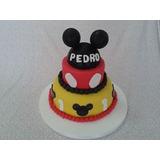 Tortas Decoradas Mickey Mouse Y Minnie,unicas Artesanales.