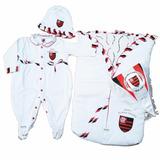 Saída Maternidade Flamengo Luxo Oficial Licenciada Menina