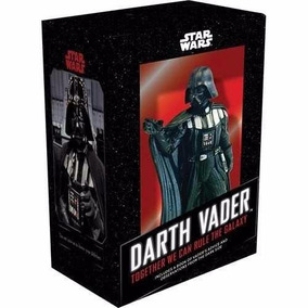 Darth Vader Figure + Livro Together We Can Rule The Galaxy