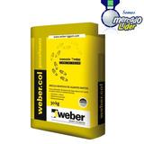 Pegamento Weber Col Para Porcelanato X 30 Kg