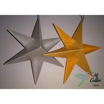5 Estrellas 3d Adornos - Decoración