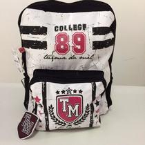 Mochila Escolar College Original Turma Da Mel Ref: 69113