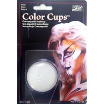 Maquillaje Mehron Blanco Para Payasos