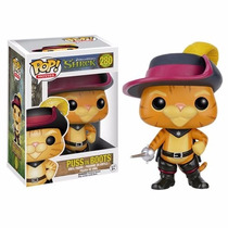 Boneco Gato De Botas Shrek Funko Pop!