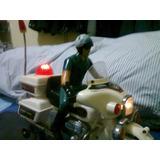 Motocicleta De Policia De Juguete