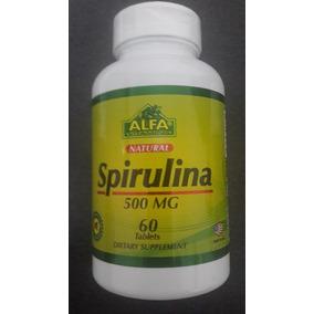 Alga Spirulina Al Mejor Precio, 60 Capsulas 60mg