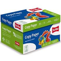Caja Papel Bond Carta / Impresión Alta Calidad 97% Blanc