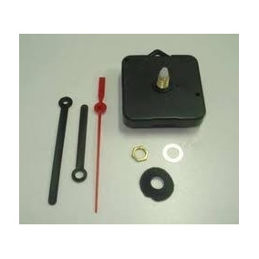 Maquina De Relogio Quartz Contínuo C/ Alça Eixo 13,5 Ou 16,5