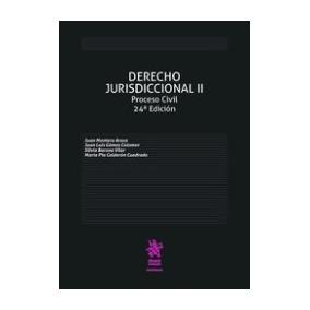 Derecho Jurisdiccional Ii Proceso Civil 24ª Edición 2016 Ju