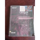 Lengua 1 Es - Serie Confluencias - Ed. Estrada + Saber Hacer