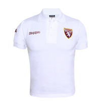 Playera Polo Casual Caballero Futbol Torino Kappa Blanco
