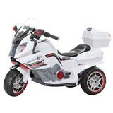 Super Moto Elétrica Infantil Branca Bmw K1600 - Bel Fix 9284