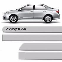Friso Lateral Corolla Prata 2012 2013 2014 2015 Original