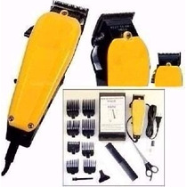 Maquina De Cortar Cabelo Corte Amarela Profissional 110v
