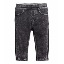 H&m Leggins Tipo Jean 12m Importado Algodon Calza Pantalon