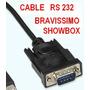 Cable Rs 232 Para Bravissimo Y Showbox