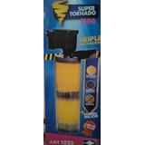 Filtro Cabeza Poder Triple Filtracion 1100l/h Peces Tornado