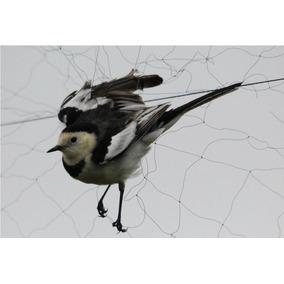 Rede Captura Pássaros E Morcegos 15mx2,5m Com Frete Grátis