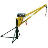 Mini Grua Para Construção Civil 1000kg Lança 1,5m 50m Cabo