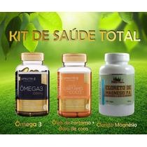 Kit Saúde Total (carticoco + Omega 3 + Cloreto Magnésio Pa)