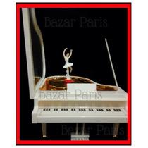 Hermosa Caja Piano Musical Alhajero Con Bailarina