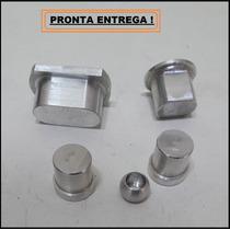 Kit Buchas Trambulador Em Alumínio Para Gol G2 G3 Gii Giii
